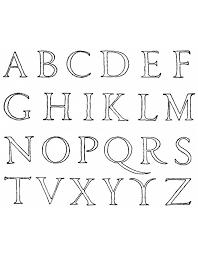 Pin Disegni Lettere Alfabeto Colorare