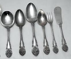 magnificient wallace sterling silver flatware value a9197323 wallace violet sterling silver flatware