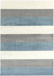 horizon slate blue grey cream rug design by striped wayfair out