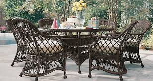 The Camino Real Collection of outdoor wicker dining furniture by Lane  Venture offers stylish comfort and