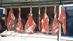 С начала мая мясо в Узбекистане подорожало до процентов Мясо на рынке в Андижане