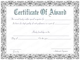 Download Award Certificate Templates Award Certificate For Best Work Performance