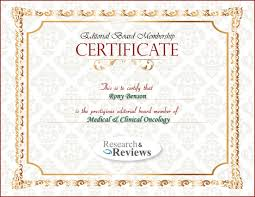 Editors Research Reviews Medical And Clinical Oncology Edit