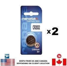 Cr2032 Battery Cross Reference Chart Details About 2 Pcs Renata Cr2032 Watch Batteries 3v Lithium 2032 Swiss Made Us Seller