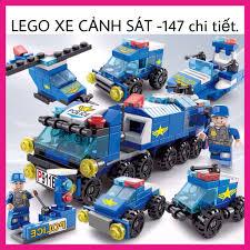 Lego xếp hình Xe Cảnh Sát - chi tiết - Đồ chơi cho bé xếp hình, lắp ráp -  Tạp hóa Abbie -junj, Giá tháng 1/2021