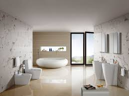 exquisite modern bathroom designs. Exquisite White Marble Tile Wall Design Mixed With Modern Bathroom Accessories And Black Framed Door Designs T