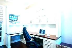 Custom built home office Two Custom Built Home Office In Furniture Perth Off Intrabotco Built In Office Cabinets Home Custom Made Furniture Amazing Uk Cabi