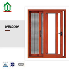 thermal break aluminum widow with mosquito net china sgs ce color can be customized window installation cost double glass manufacturer supplier