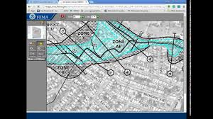 how to use the fema flood map search  youtube