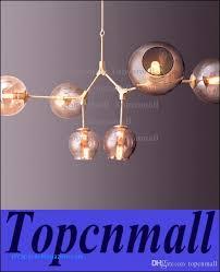 lindsey adelman light creative branching bubble glass chandelier modern art pendant light fice living room light