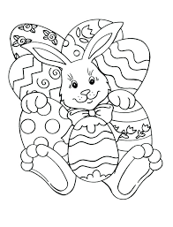 Bunny Coloring Pictures Bunny Coloring Easter Bunny Basket Coloring