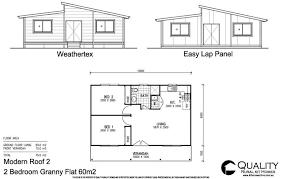 bedroom granny flat floor plan pin