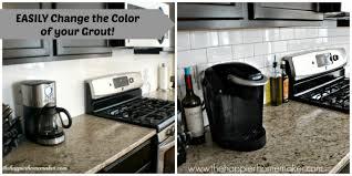 change grout color tutorial