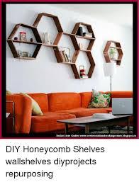 memes blo and dollar dollar crafter cowiescraftandcookingcorner blo diy honeycomb shelves wallshelves diyprojects repurposing