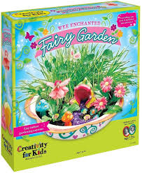 creativity for kids wee enchanted fairy garden diy kit for beginners ad
