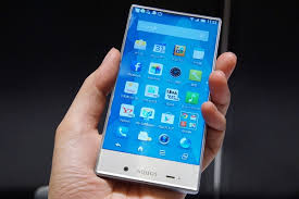 sharp phone. beautifully designed sharp aquos 2017 concept video appears phone