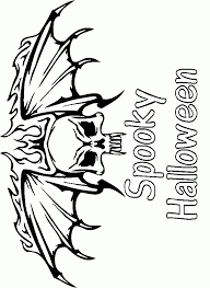 Small Picture Scary Halloween Color Pages Scary Coloring Pages For Adults