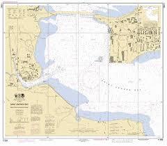 Us Navy Nautical Charts Naval Coastal Systems Center Saint Andrew Bay Marine Chart