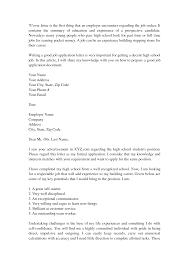 Cover Letter Template For High School Graduate Adriangatton Com