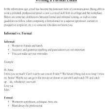 Business Letter Sample Word Official Formal Email Letter Letters Examples 5 And Samples