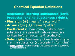 6 9 2 chemical equations word