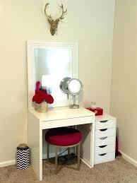 makeup vanity table ikea small makeup vanity table furniture ideas desks bedroom decorative nice with best