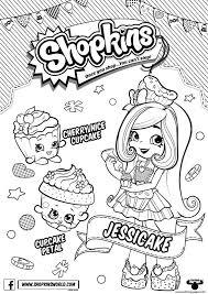 Print Season 6 Chef Club Season Coloring Pages Chef Club Shopkins