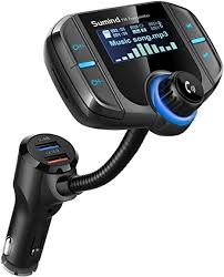Car <b>Bluetooth FM Transmitter</b>, <b>Wireless</b> Radio Adapter: Amazon.co ...