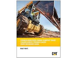 cat 279d compact track loader caterpillar parts reference guide