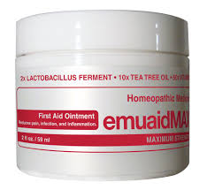 Emuaid Homeopathic Ointment Medicine Skin Inflammation Remedy 2 oz
