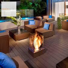 ecosmart fire mini t ventless outdoor fireplace