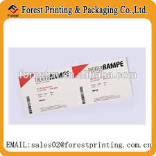 Event Ticket Printing Software Direct Thermal Paper Concert Ticket Event Ticket Printing Buy