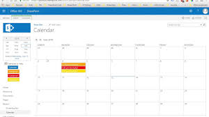 how to customize sharepoint calendar colors