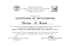 Certificate Of Participation Sample Filename Elsik Blue Cetane