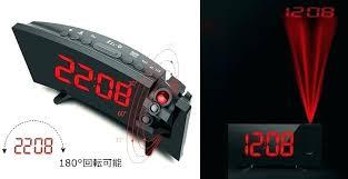 ceiling clocks display alarm clock i reflect it on a projection black digital led displa