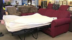 Abbyson Living Bedford Gray Linen Convertible Sleeper Sectional Sofa