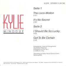 45cat - Kylie Minogue - The Loco-Motion / It's No Secret - Amiga ...