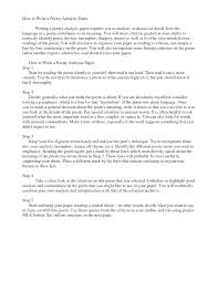 how to write an analysisworld of writings  world of writings how to write a poetry analysis paper doc by spg ruksvg