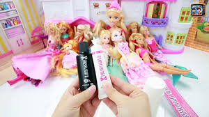 how to transform barbie hair into wild curly hair doll makeover diy makeup tutorial video dailymotion
