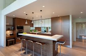 Image of: Contemporary L Shaped Kitchen With Island