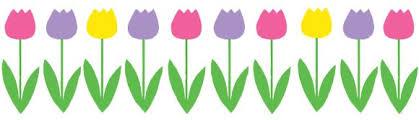 spring flowers border clipart. Delighful Border Spring Border Clip Art U0026 Images  Svg For Flowers Clipart P