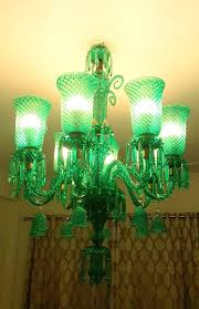 indain made italian chandeliers with colourful crystal decorative