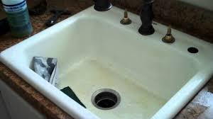 how to re an old bath tub and sink