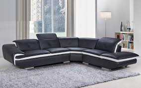 Francesca Genuine Leather Sectional