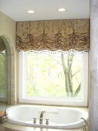 Style And Elegance Susan 39 S Designs Bathroom Valance Bathroom Windows Bathroom Window Curtains