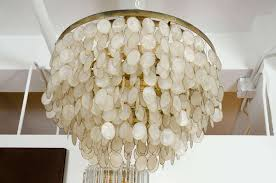 elegant amusing white capiz shell chandelier 16 for home remodel pendant light inspirations 15