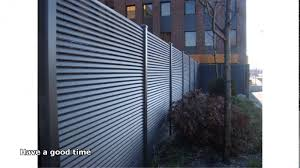 solid metal fence. Steel Fence Panels Youtube Solid Metal