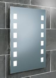 hib halifax fluorescent backlit bathroom mirror  x mm