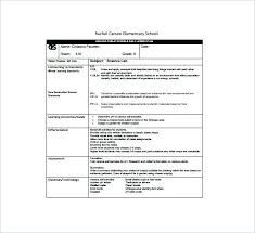 Blank Lesson Plan Template New Daily Lesson Plan Template Pdf Tangledbeard