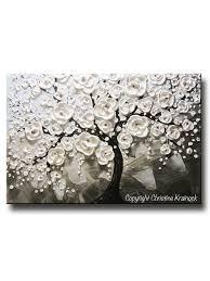 grey flower canvas wall art